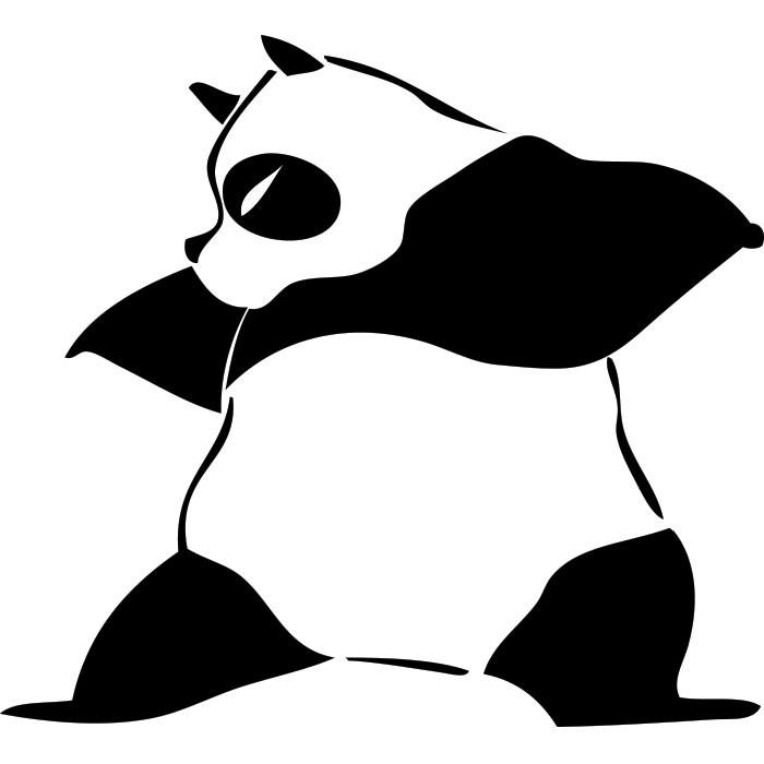 Adesivo de Geladeira Kung Fu Panda