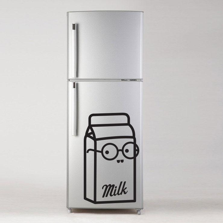 Adesivo de Geladeira Milk