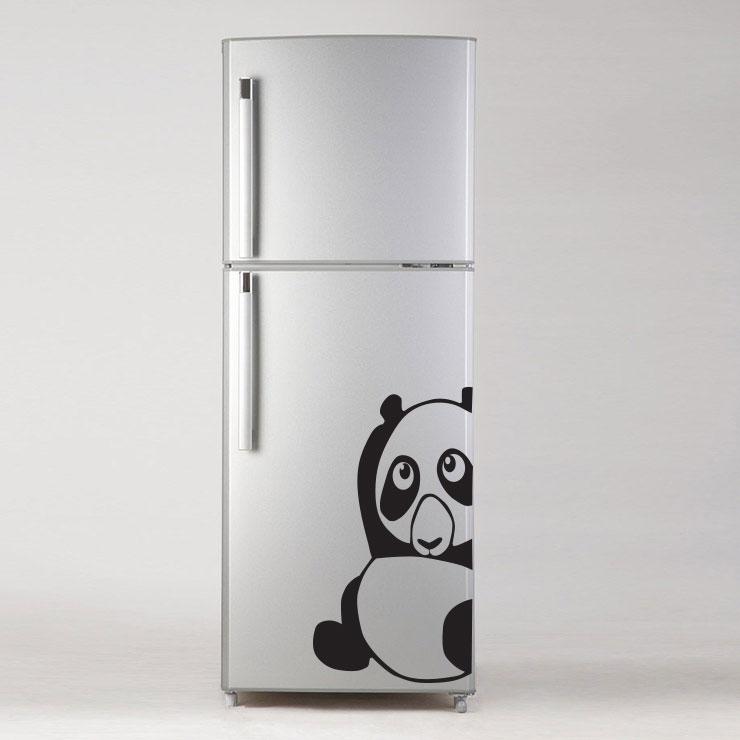 Adesivo de Geladeira Panda