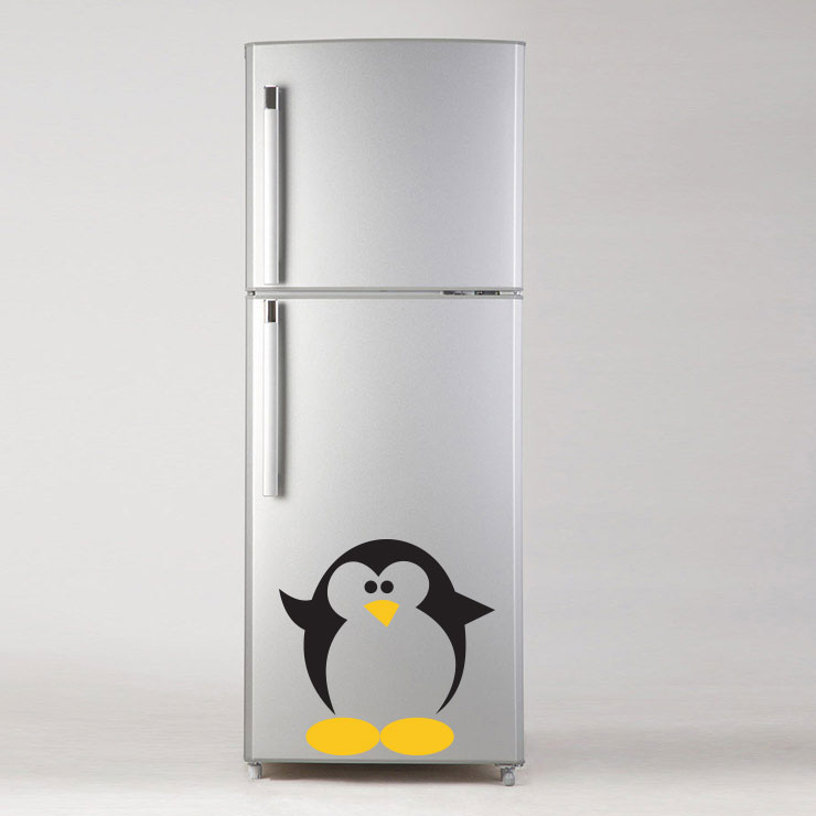 Adesivo de Geladeira Pinguim G09