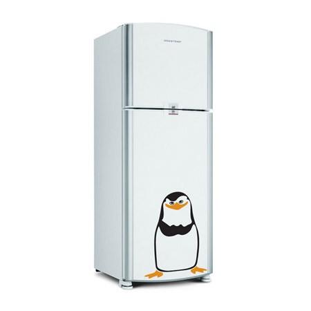 Adesivo de Geladeira Pinguim Madagascar Capitão Kowalski