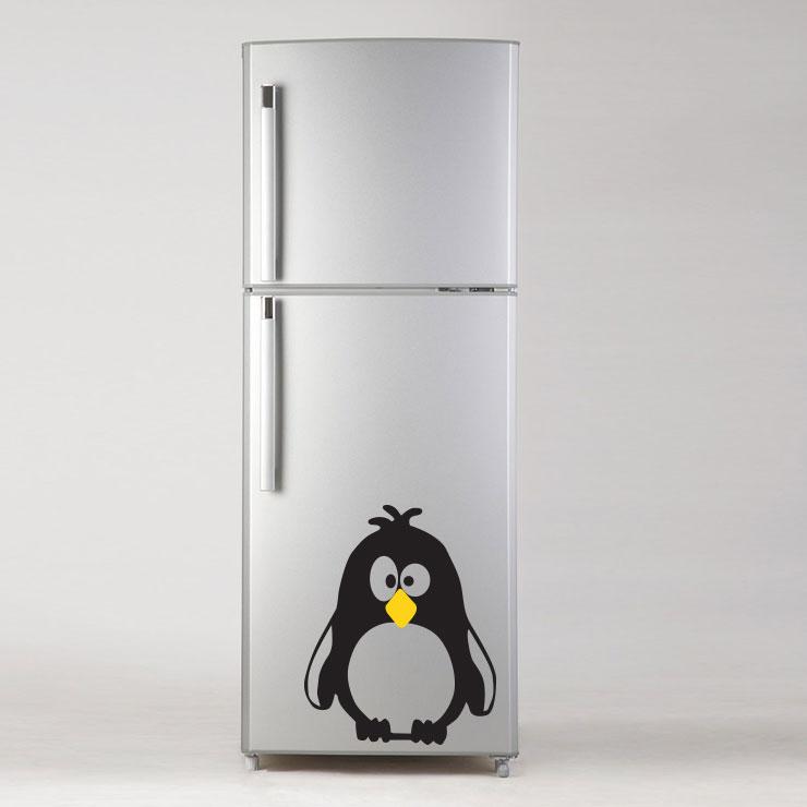 Adesivo de Geladeira Pinguim Oh