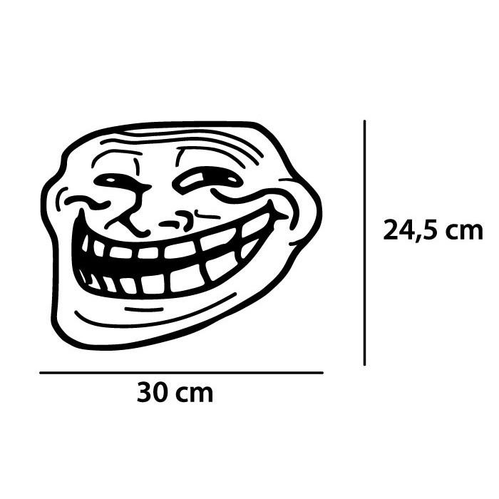 Adesivo de Geladeira Poker Face
