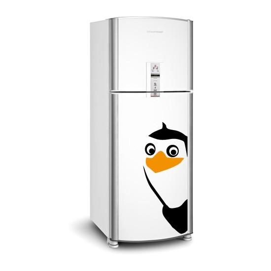 Adesivo de Geladeira Quadrilha Pinguim: Meliante 01