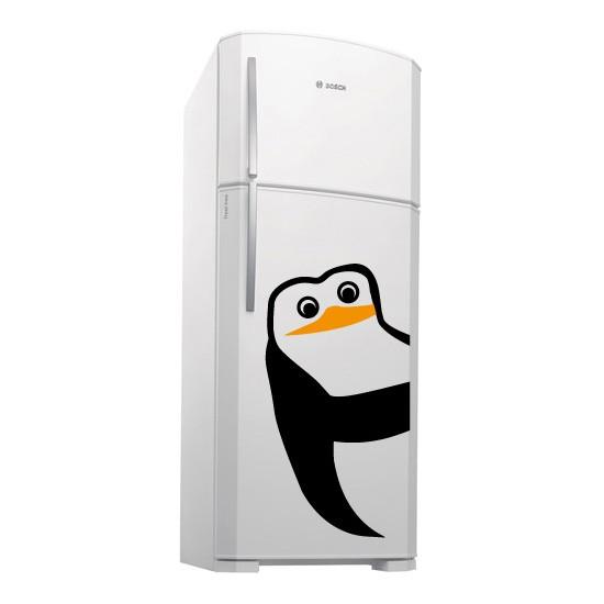 Adesivo de Geladeira Quadrilha Pinguim: Meliante 02