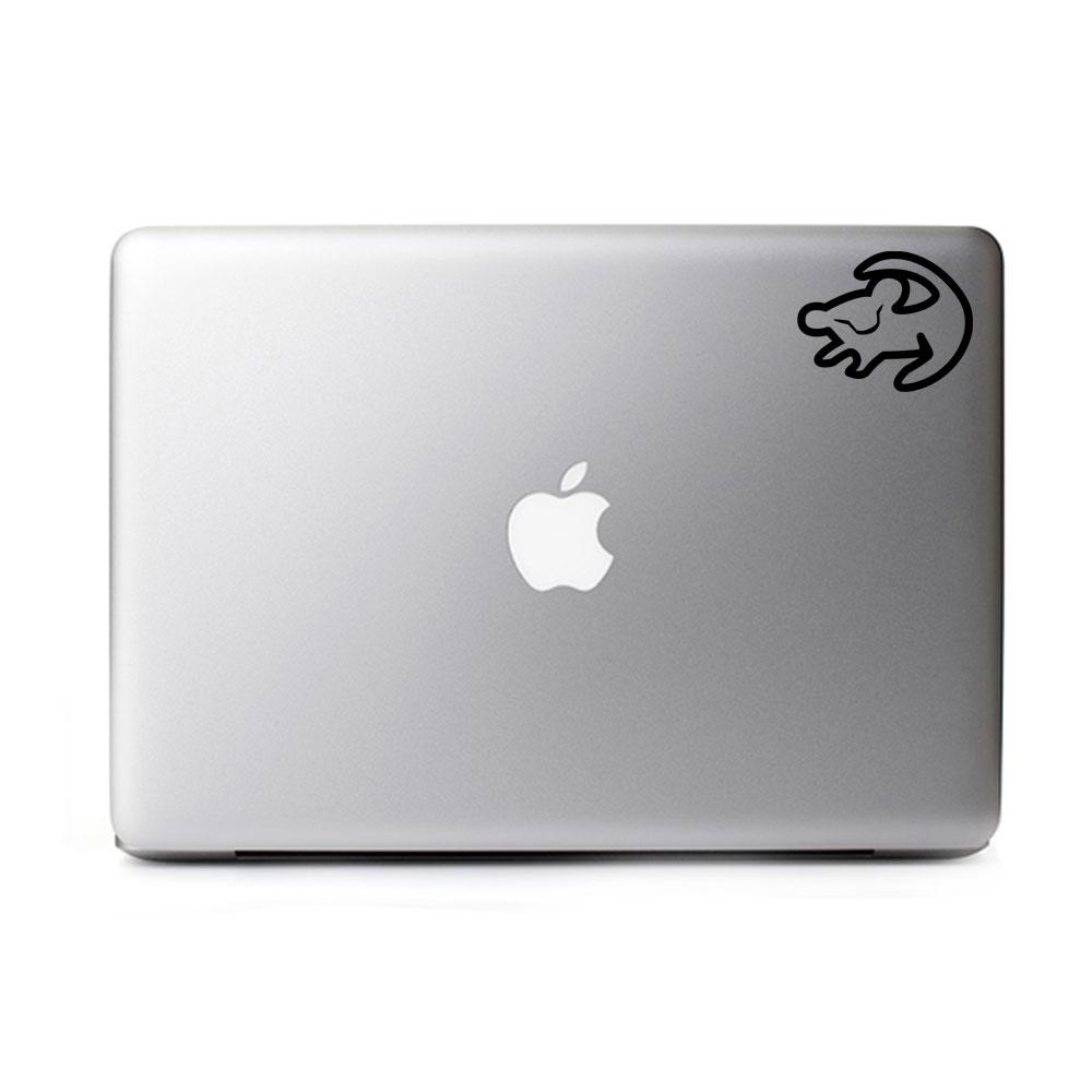 Adesivo de Notebook Simba