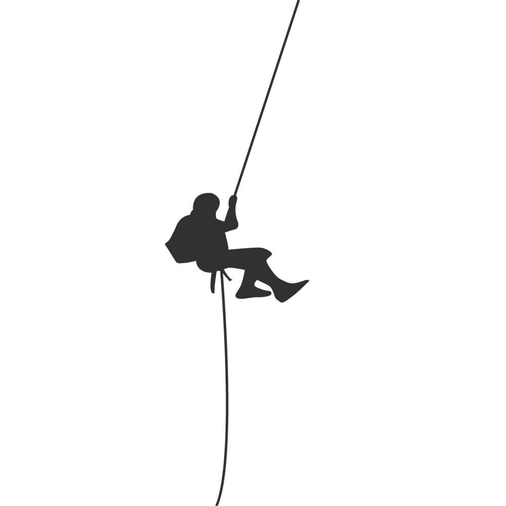 Adesivo de Parede Alpinismo no Interruptor