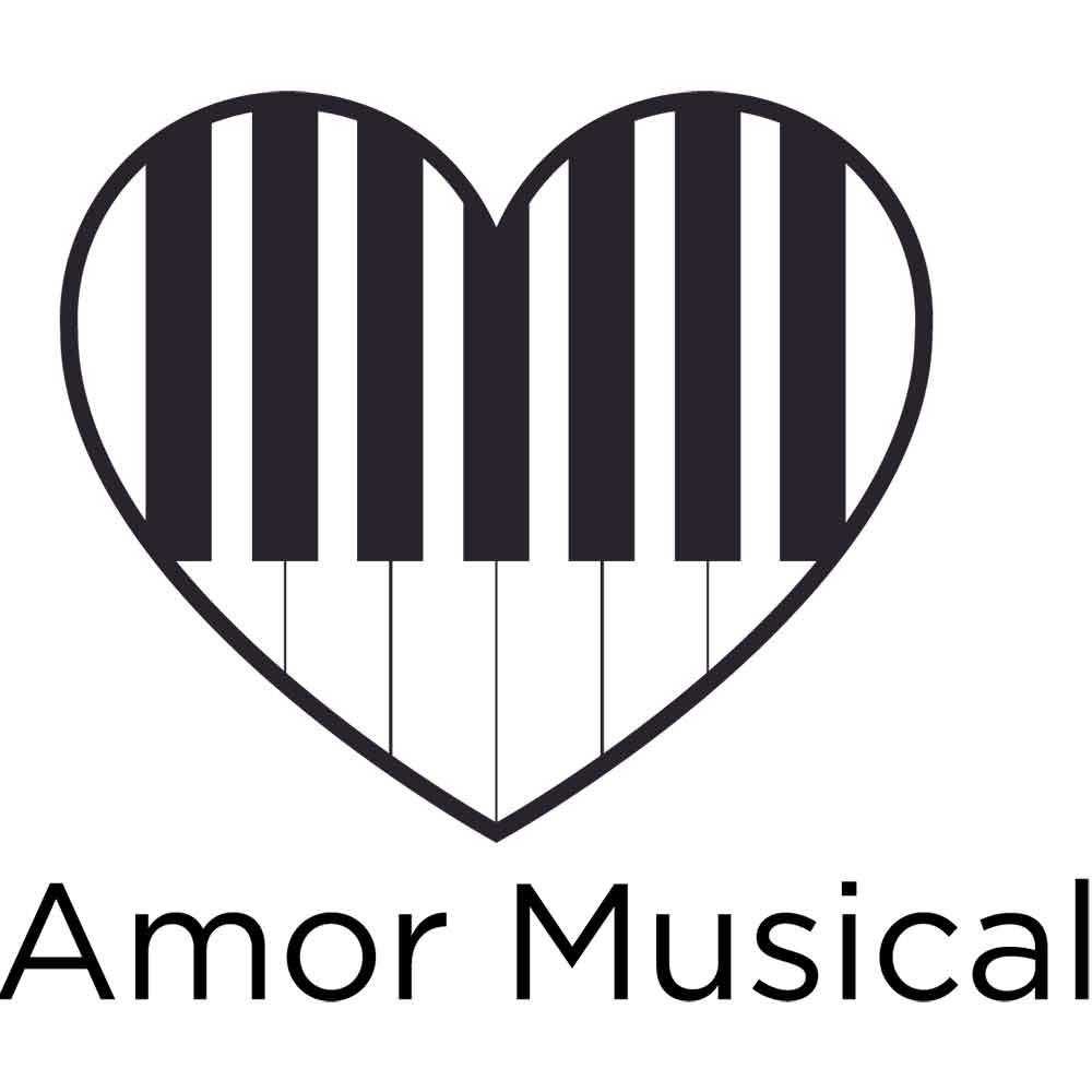 Adesivo de Parede Amor Musical