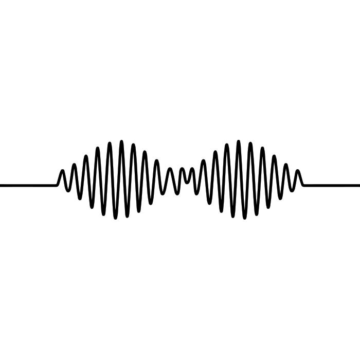 Adesivo de Parede Arctic Monkeys AM