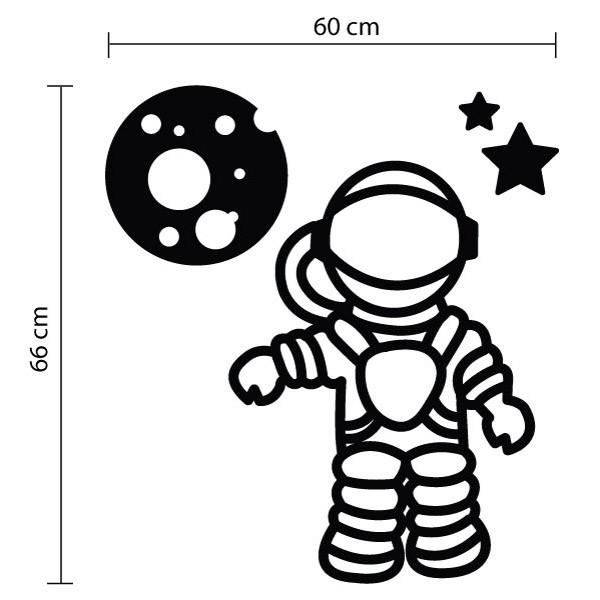 Adesivo de Parede Astronauta