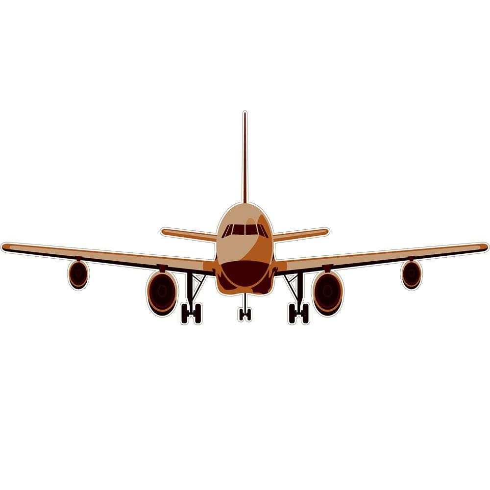 Adesivo de Parede Avião Boing