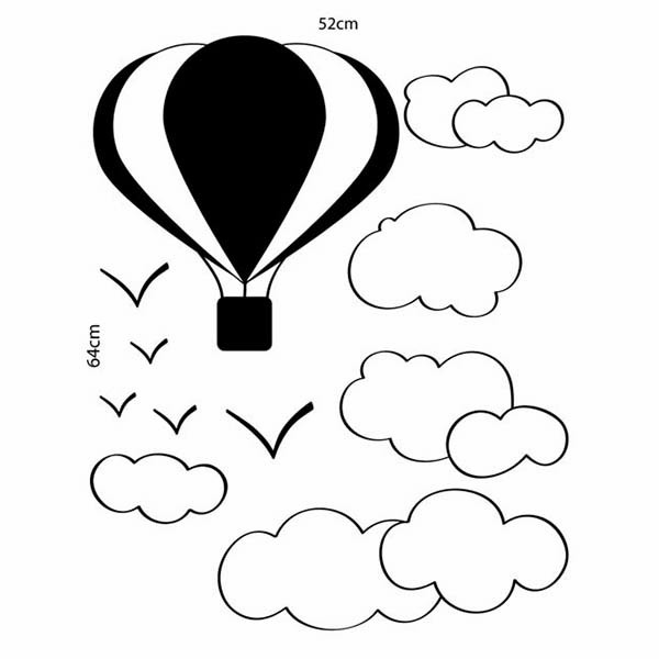 Adesivo de Parede Balão