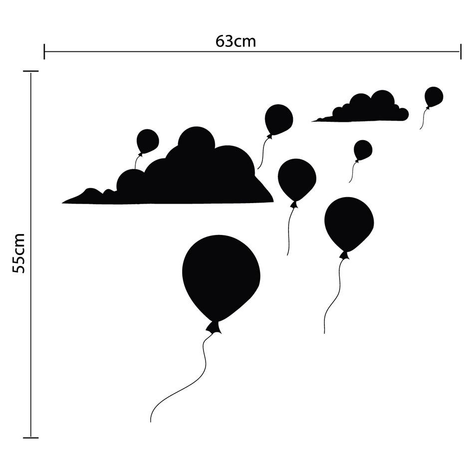 Adesivo de Parede Balloon