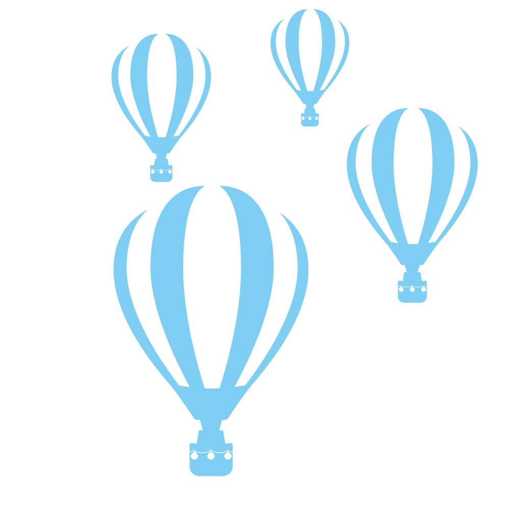 Adesivo de Parede Balões da Alegria