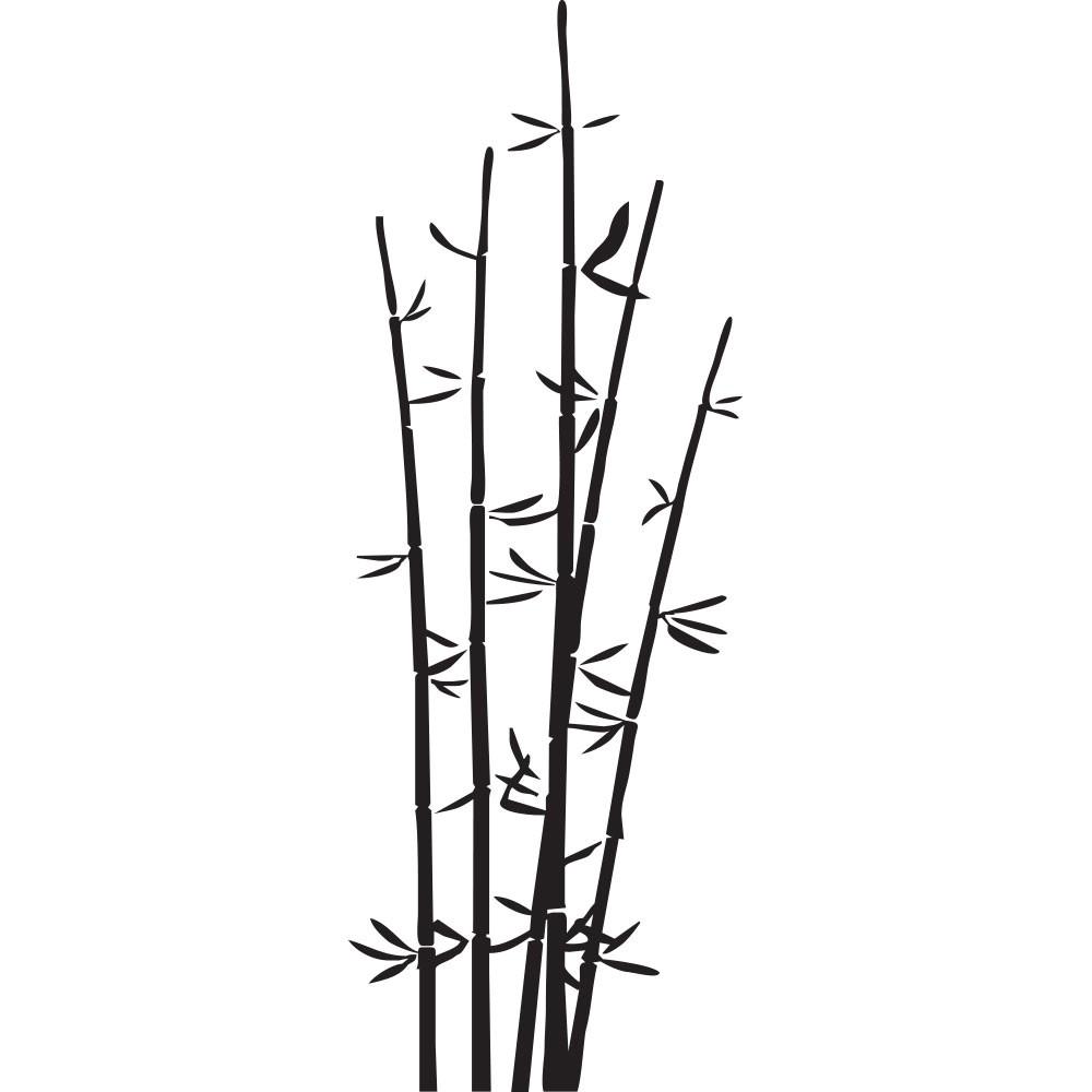 Adesivo de Parede Bamboo