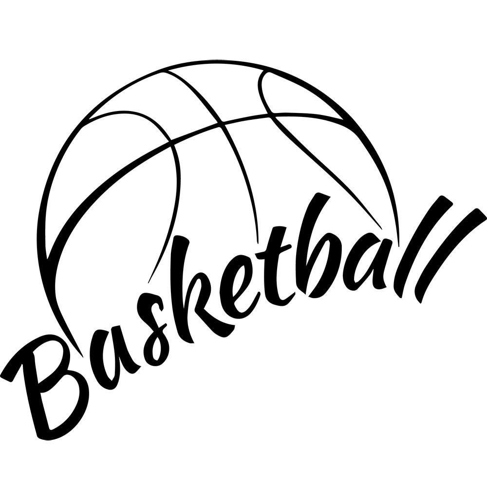 Adesivo de Parede Basketball