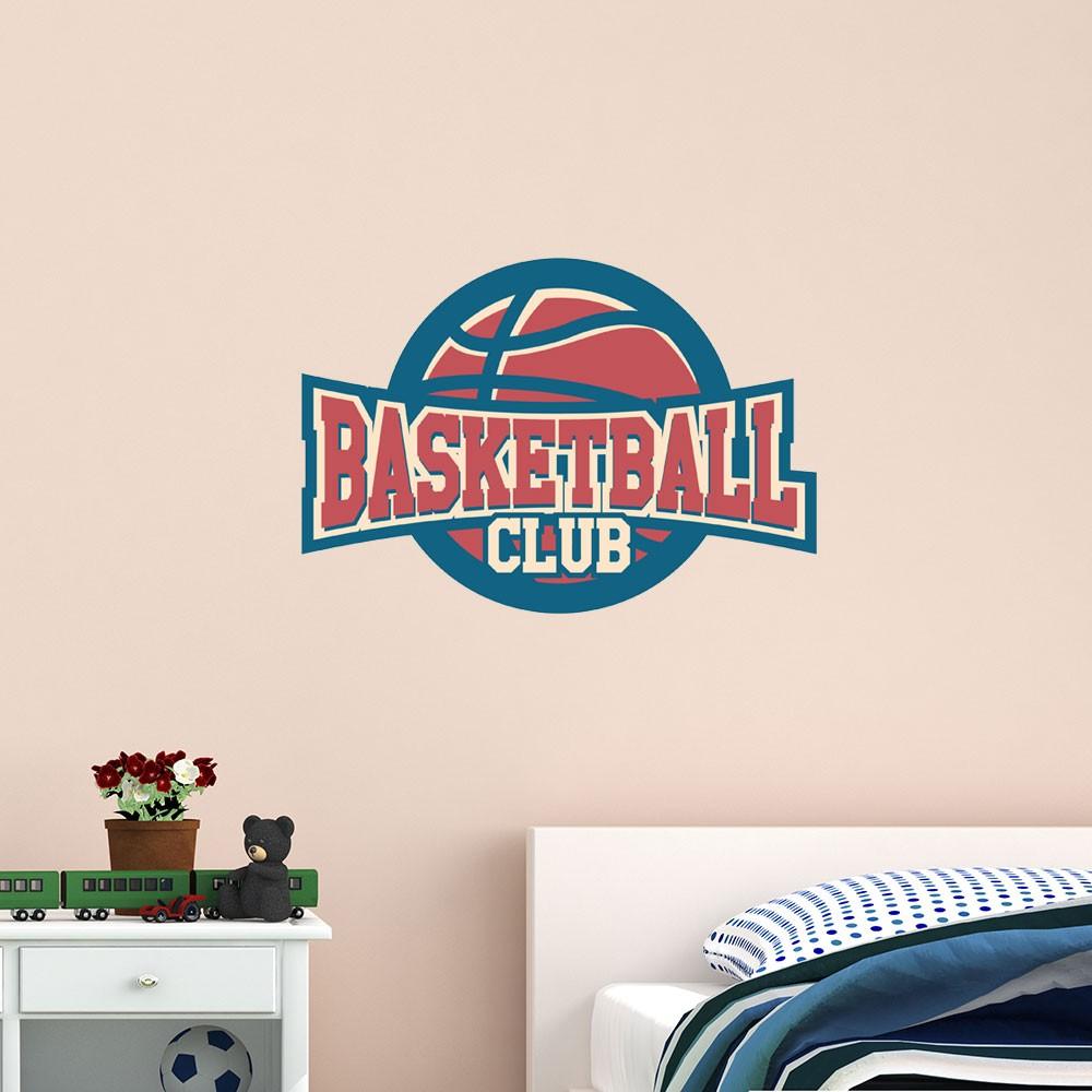 Adesivo de Parede Basketball Club