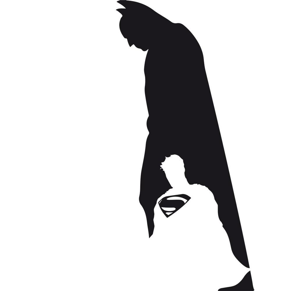 Adesivo de Parede Batman X Superman