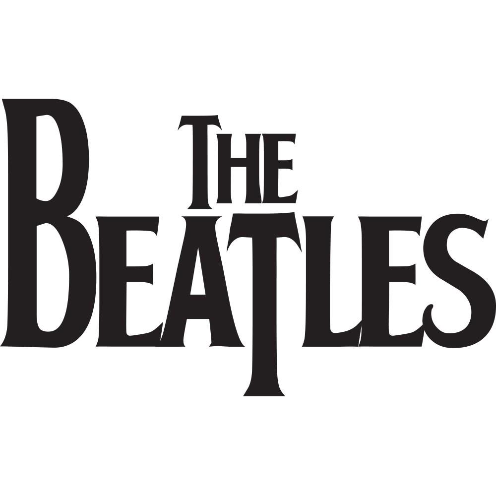 Adesivo de Parede Beatles Logo