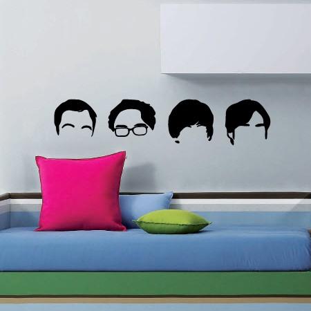 Adesivo de Parede Big Bang Theory