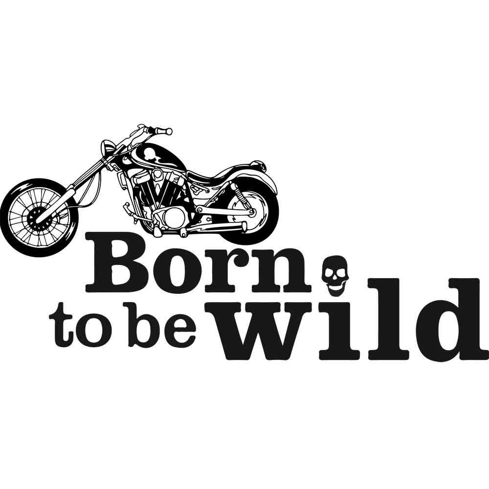 Adesivo de Parede Born to be Wild