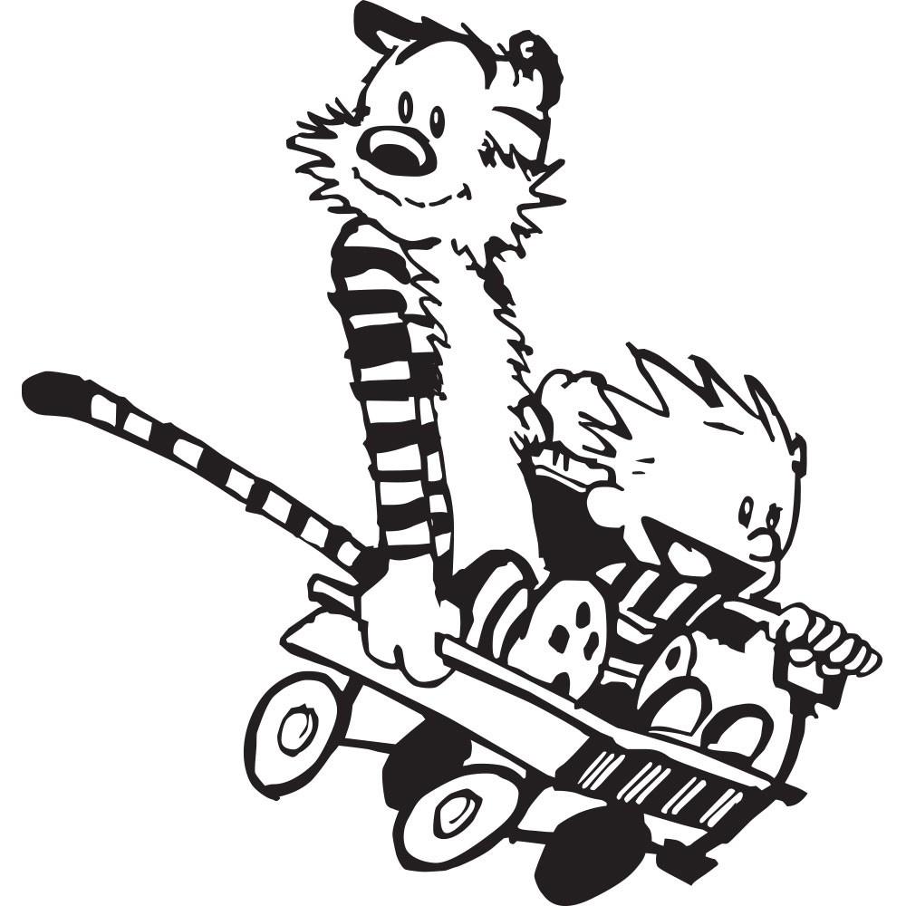 Adesivo de Parede Brincando com o Tigre