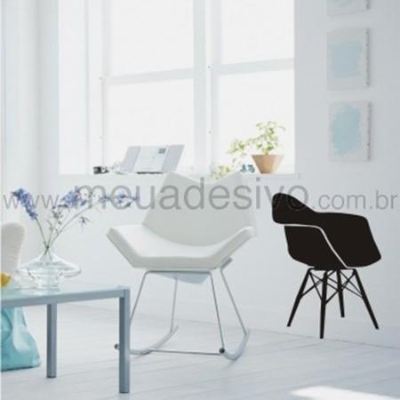 Adesivo de Parede Cadeira Designer