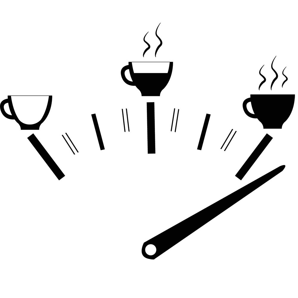 Adesivo de Parede Café Combustível