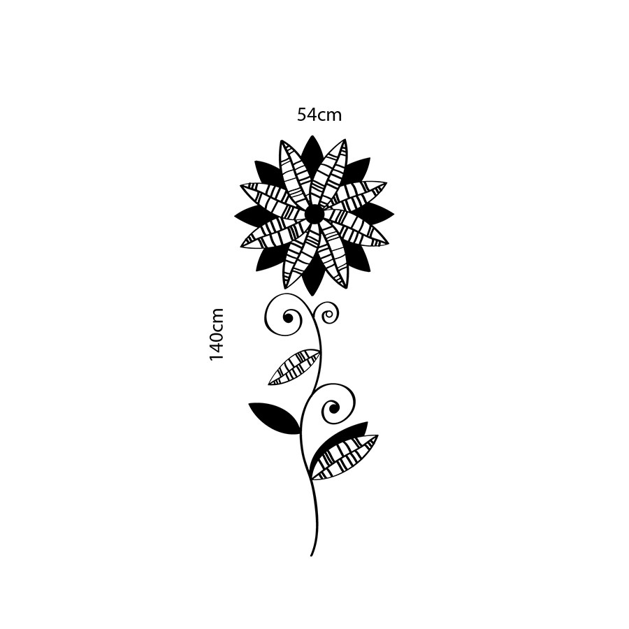 Adesivo de Parede Chip Flower