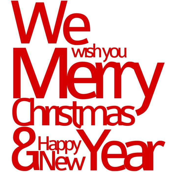Adesivo de Parede Christmas and New Year