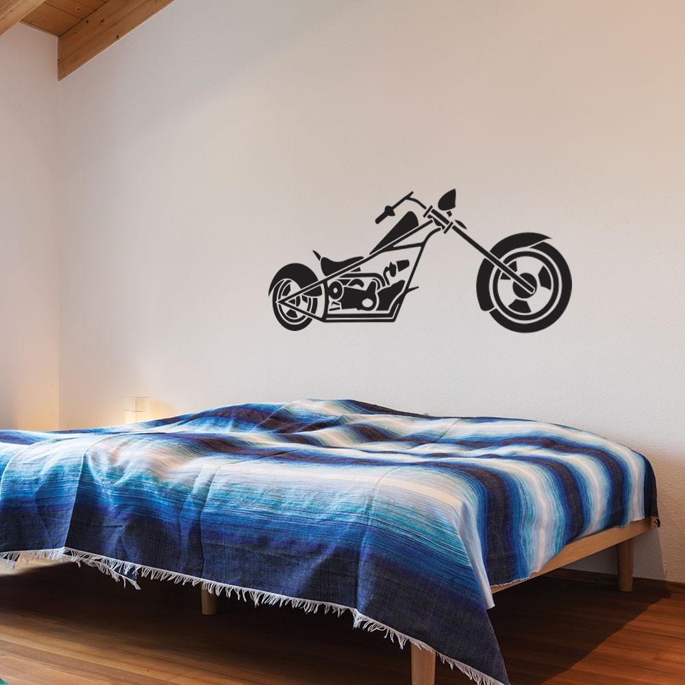 Adesivo de Parede Classic Motorcycle