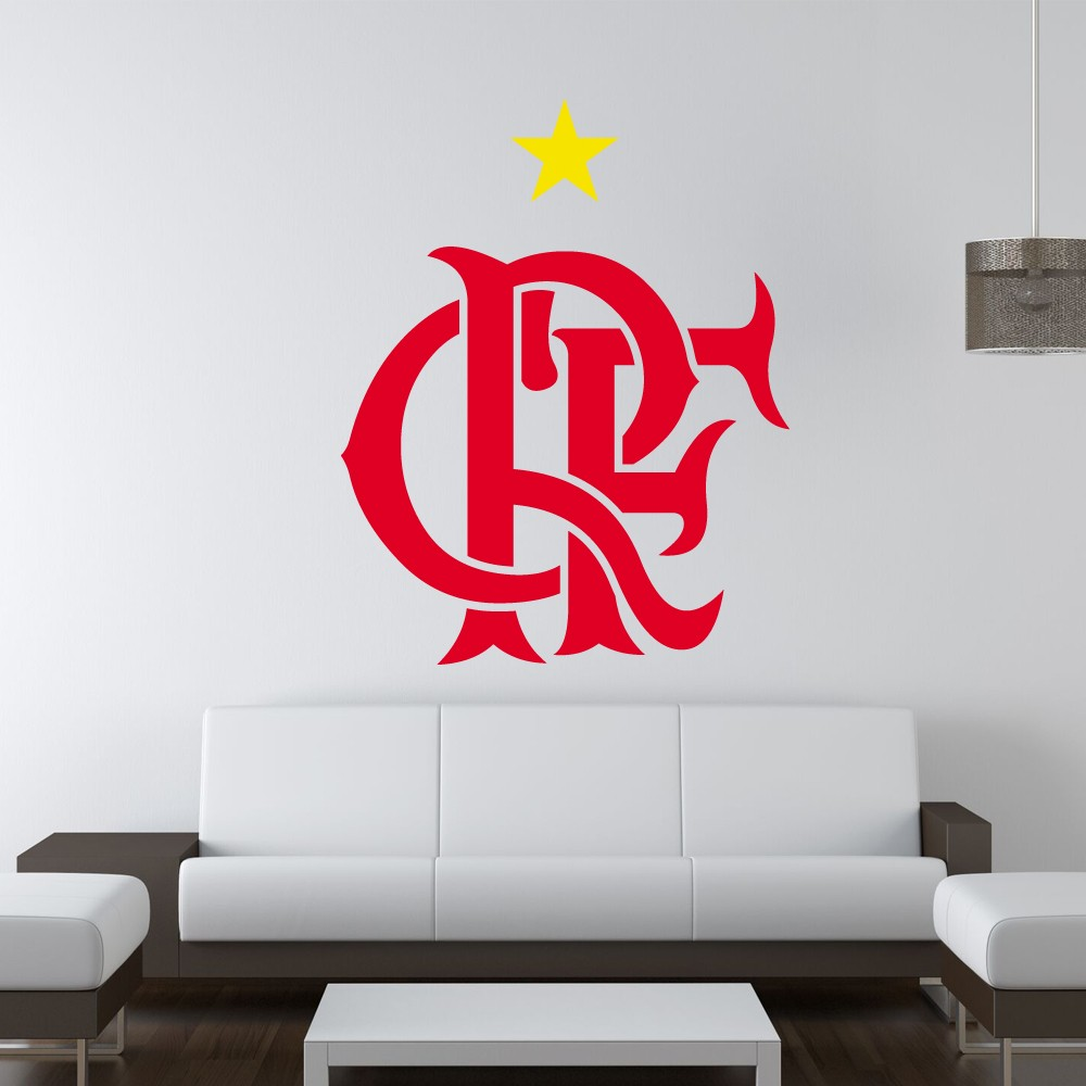 Adesivo de Parede Clube Regatas do Flamengo