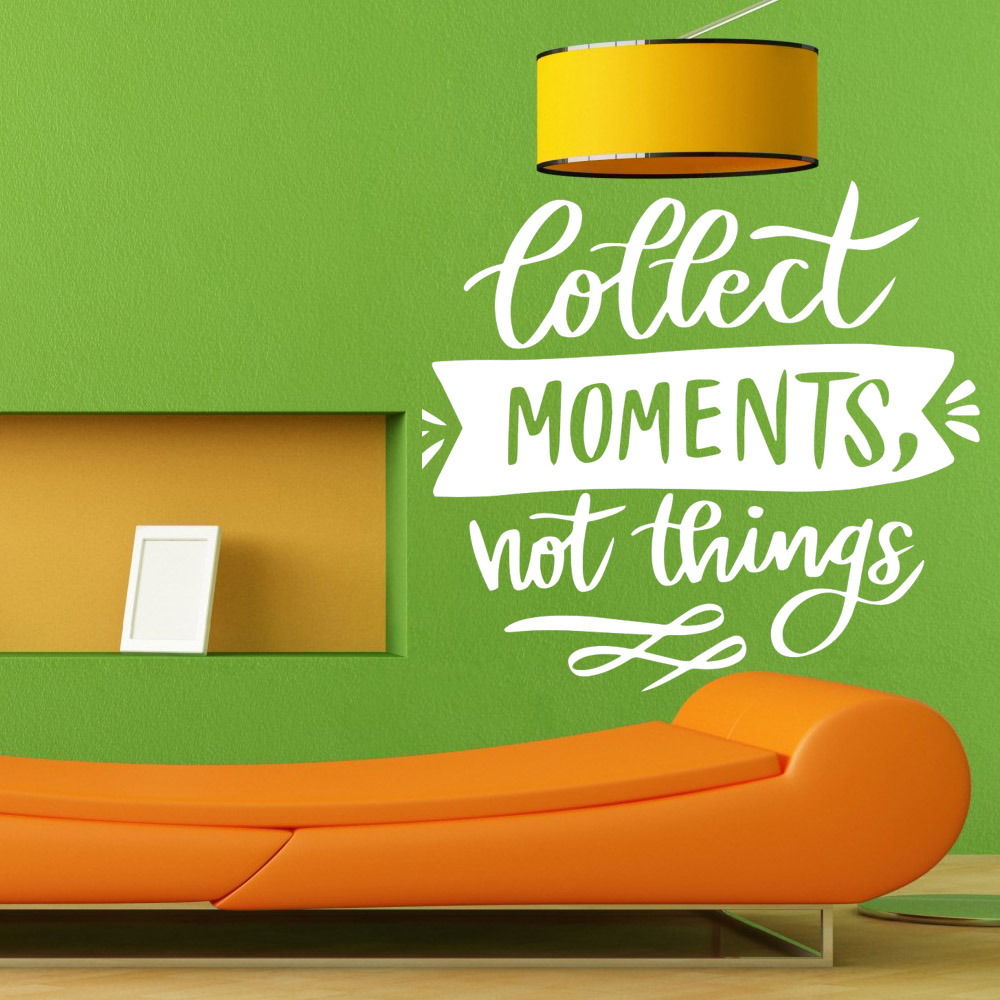 Adesivo de Parede Collect Moments