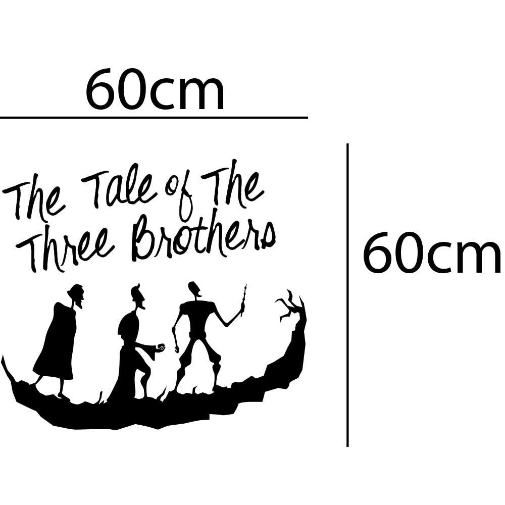 Adesivo de Parede Conto dos Três Irmãos