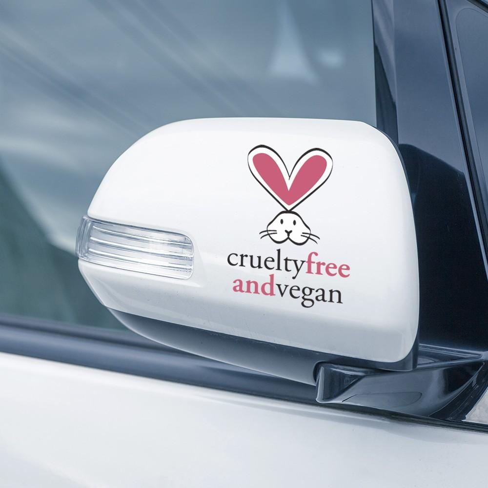 Adesivo de Parede Cruelty Free and Vegan