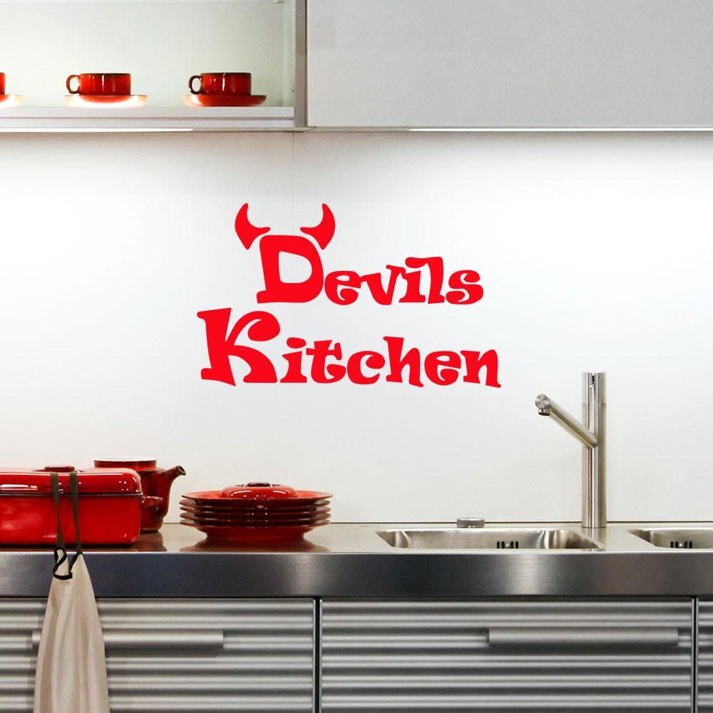 Adesivo de Parede Devils Kitchen