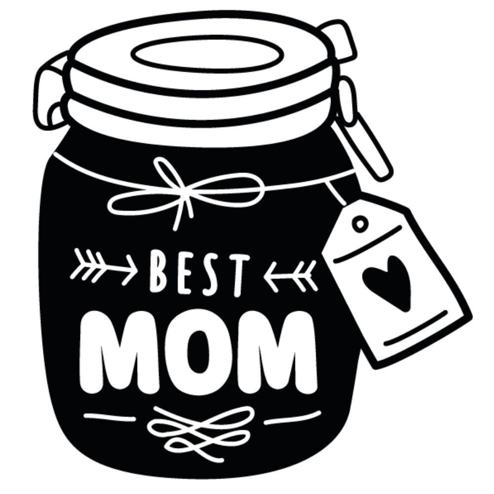 Adesivo de Parede e Geladeira Best Mom