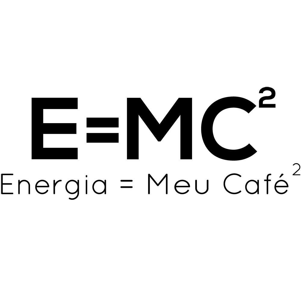 Adesivo de Parede E=MC2