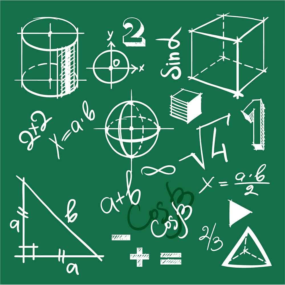 Adesivo de Parede Elementos Matema?tica
