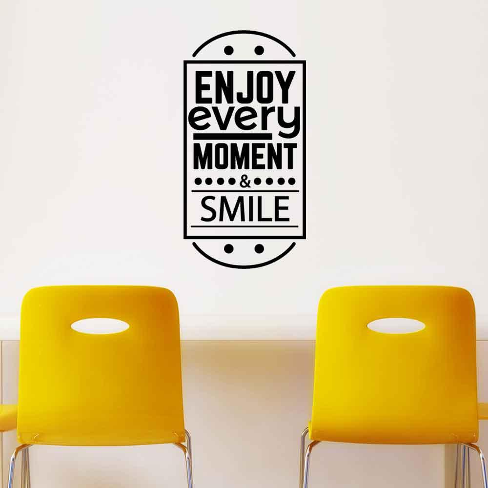 Adesivo de Parede Enjoy Every Moment
