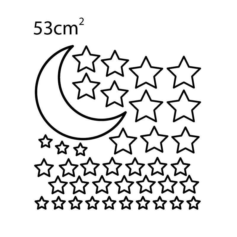 Adesivo de Parede Estrelas