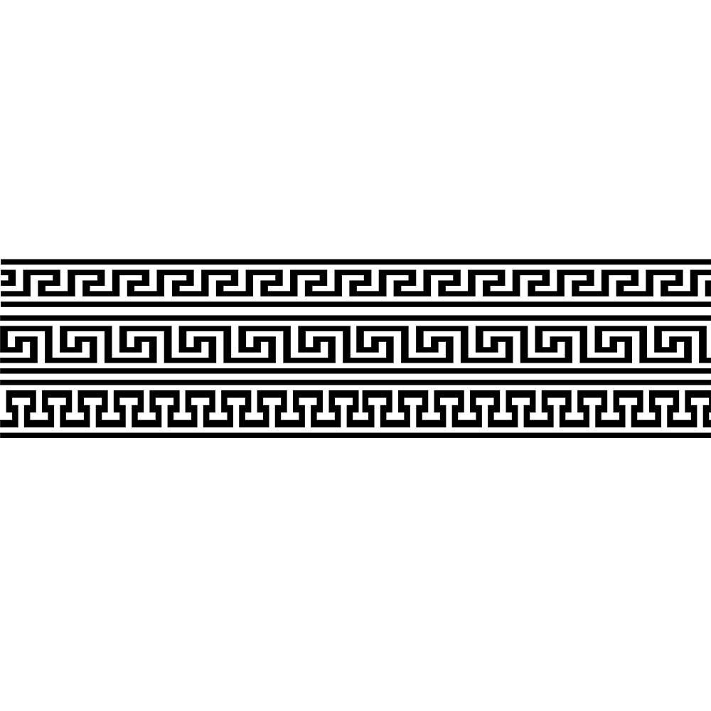 Adesivo de Parede Faixa Grega