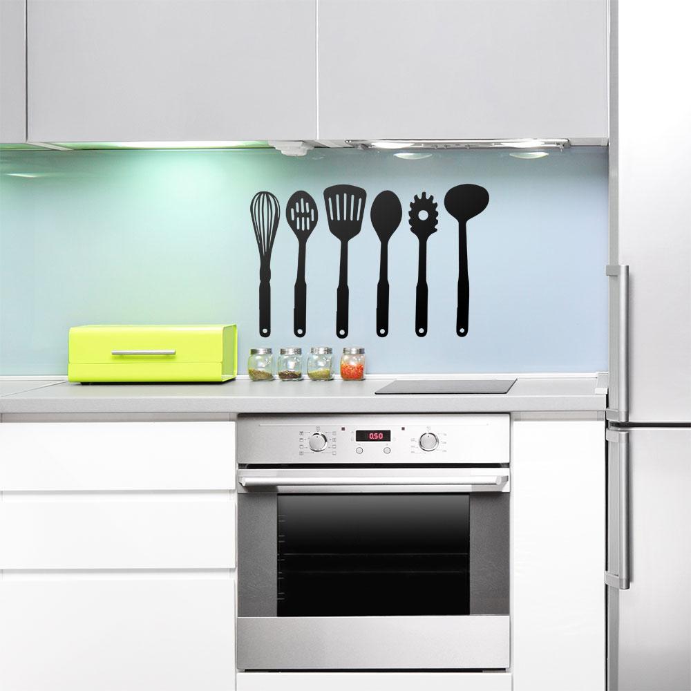 Adesivo de Parede Ferramentas de Cozinha