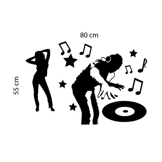 Adesivo de Parede Festa DJ