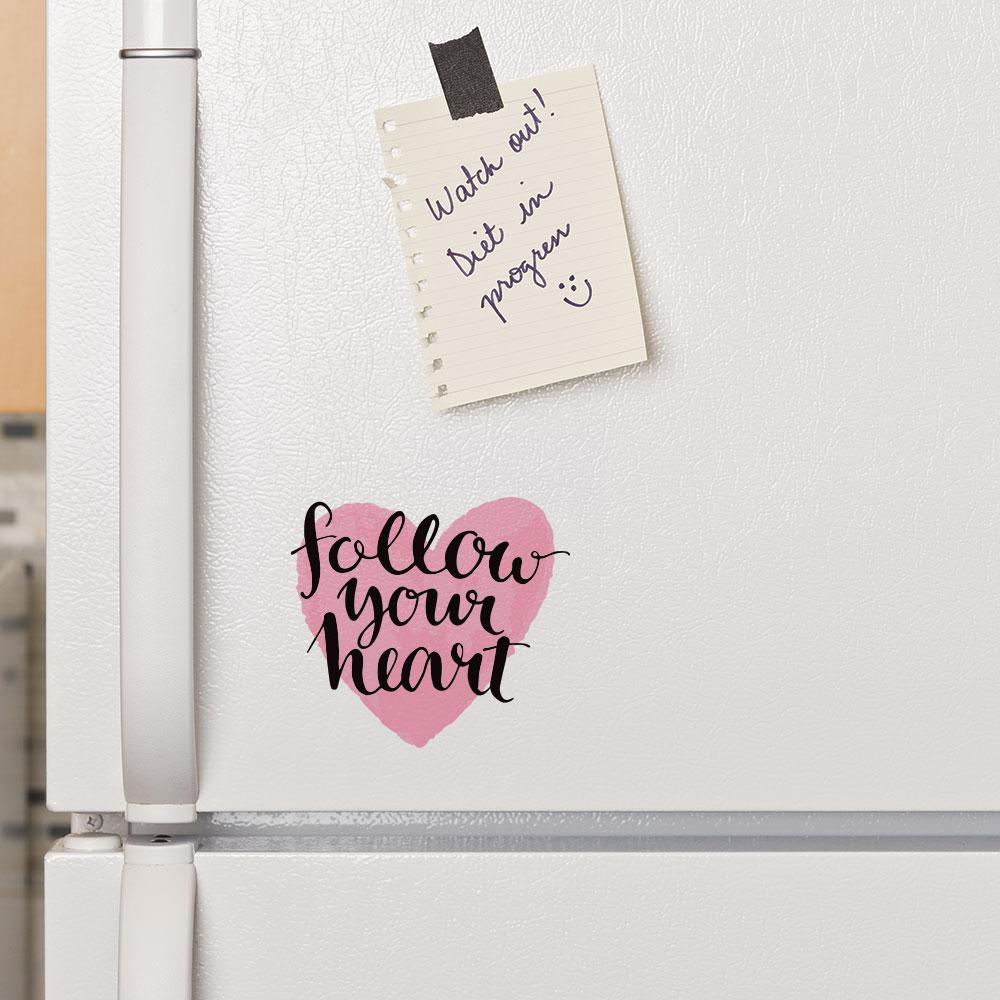 Adesivo de Parede Follow Your Heart
