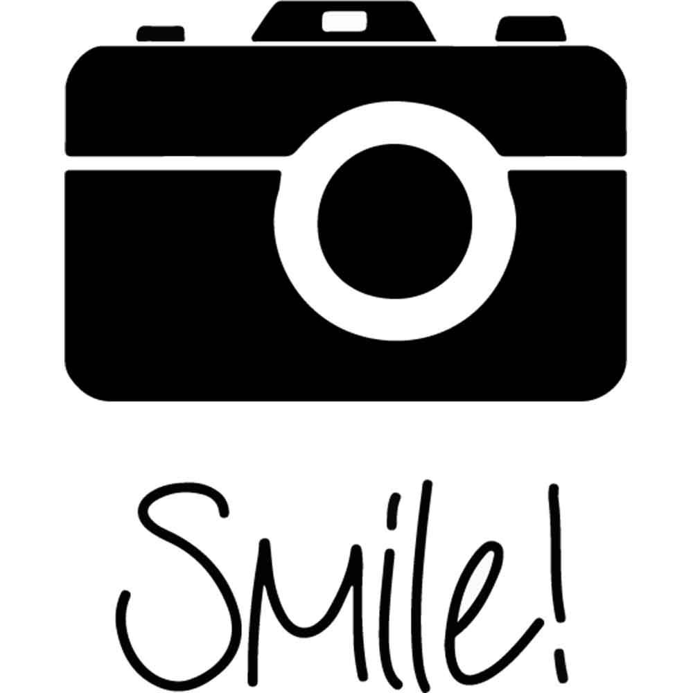 Adesivo de Parede Foto Smile