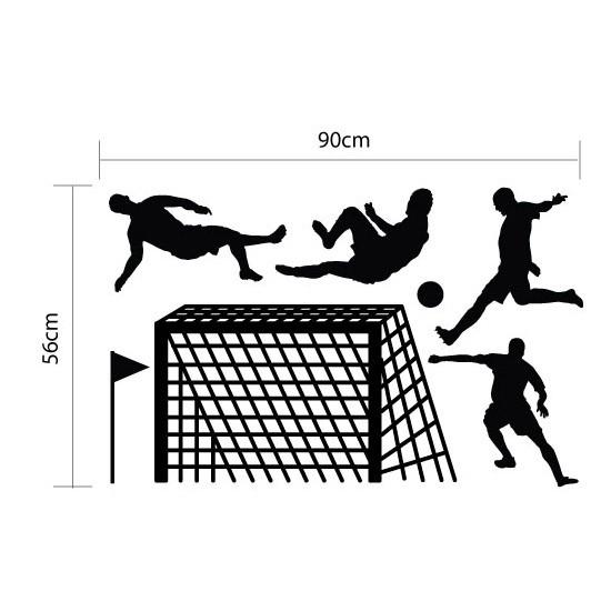 Adesivo de Parede Infantil Futebol Copa Seleção