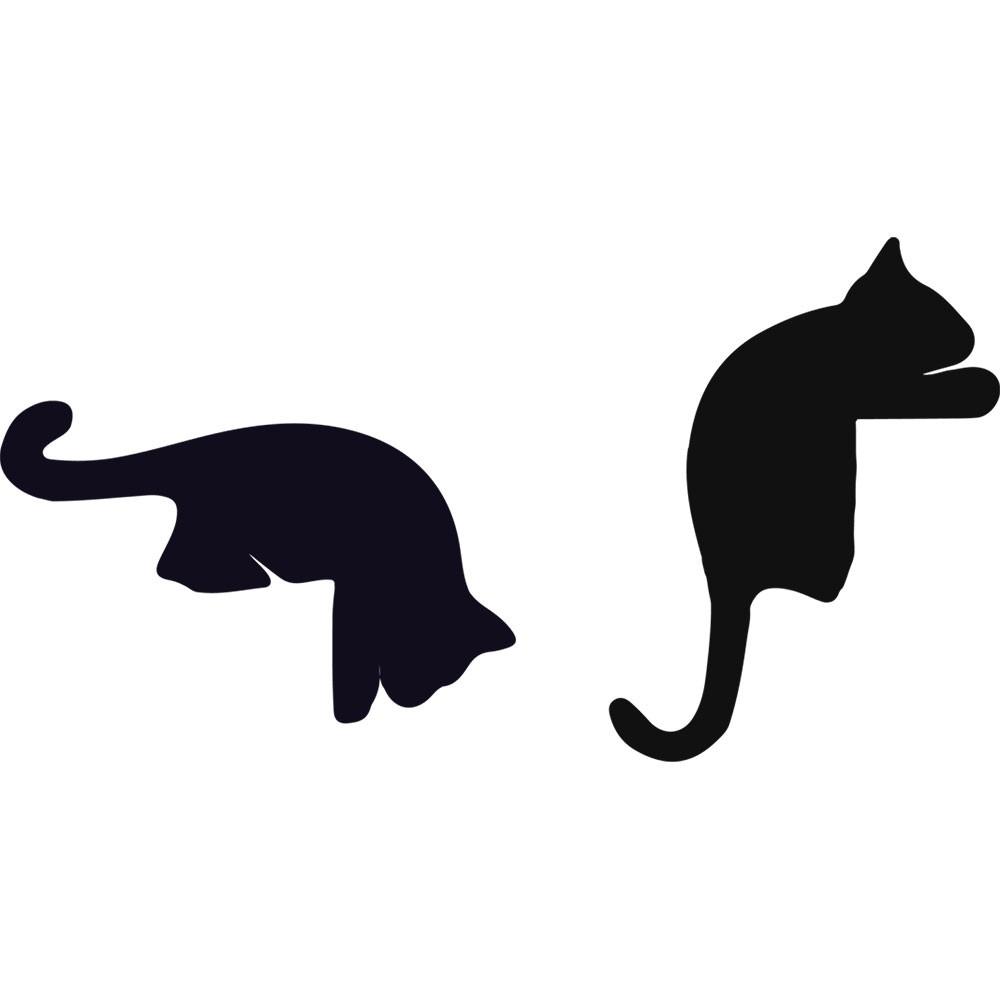 Adesivo de Parede Gatos Curiosos