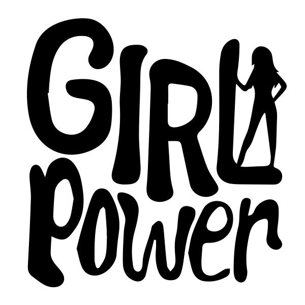 Adesivo de parede Girl Power