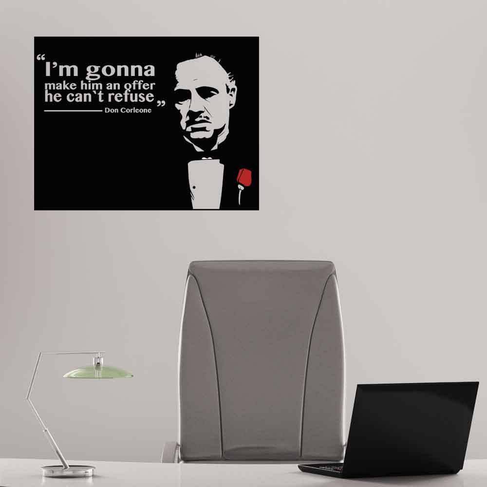 Adesivo de Parede Godfather